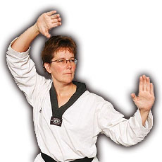 Adult Student at Plainview Martial Arts